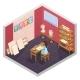 Art School Room Composition