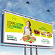 Cooking Lessons Billboard Template