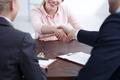 Handshake on recruitment review