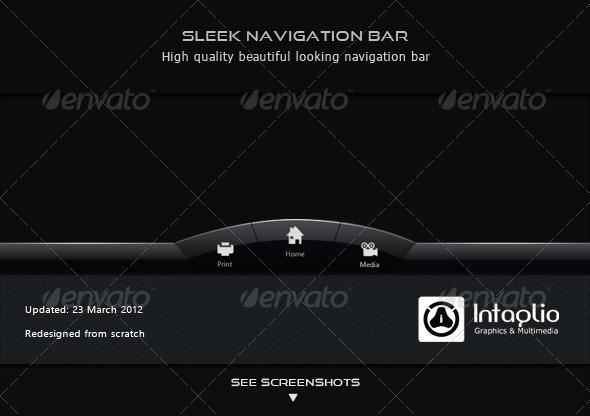 GraphicRiver Sleek Navigation Bar 149213