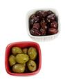 Olives on Bowls