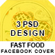 Fast Food Facebook Boost Cover