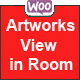 WooCommerce Artworks view in Room (WooCommerce)