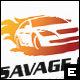Savage Car Logo Template