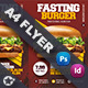 Fast Food Burger Flyer Templates