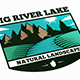 Big River Lake Logo Template