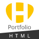 HUNT - Personal Portfolio and Corporate  HTML Template