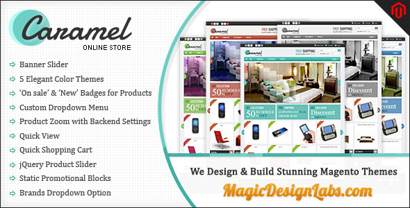 Caramel Store - Magento eCommerce