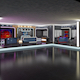 3d Virtual TV Studio News Set 16