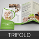 Spa & Beauty Salon Trifold Brochure 2