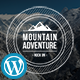 Mountain - Exclusive Coming Soon WordPress Theme
