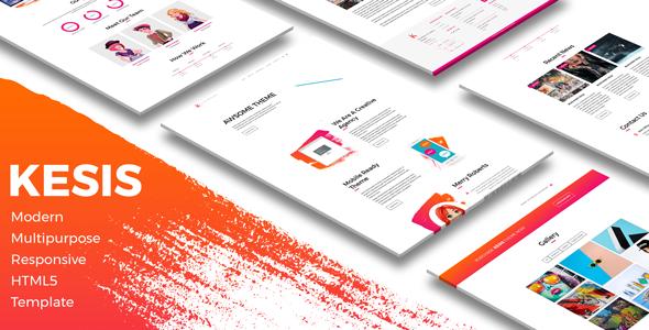 Kesis | Modern Multipurpose Responsive HTML5 Template