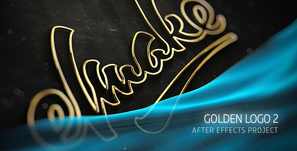 Videohive - After Effects Template - Gold Logo