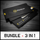 Business Cards Bundle #2 - GraphicRiver Item for Sale