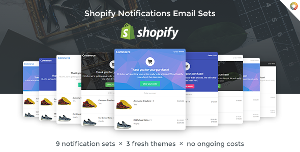Lil Commerce - Shopify Email Notification Templates