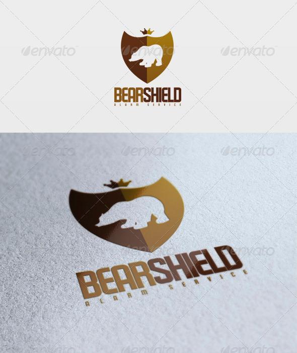Bear Shield Logo