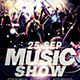 DJ Night Show Flyer Template