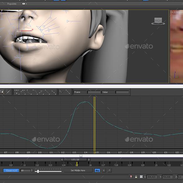 3DOcean TimeZoom 3ds Max script 20000286