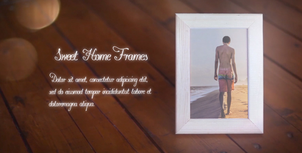 Videohive - After Effects Template - Sweet Home Frames