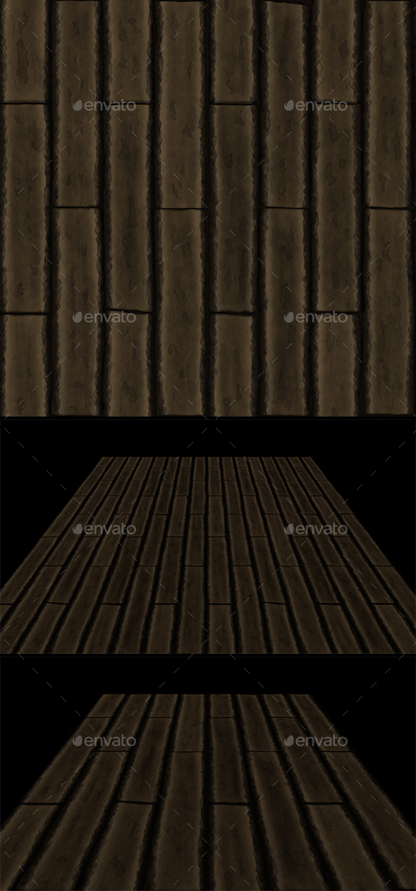 3DOcean Wooden planks tile 20000474