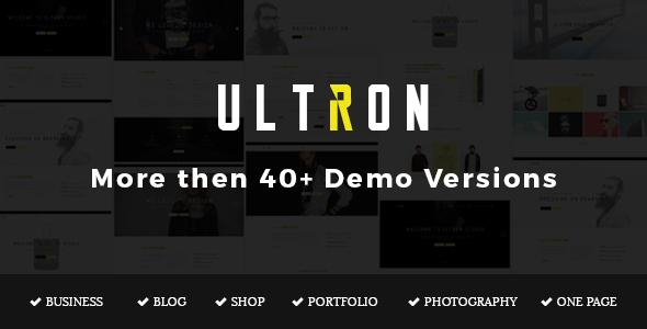 Ultron - Responsive Multipurpose Joomla Template