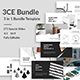 3CE Bundle - Minimal Google Slide Template