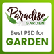 Paradise Garden - Gardening and Landscaping PSD Template