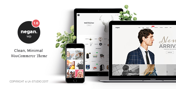 Negan - Clean, Minimal eCommerce PSD Templates