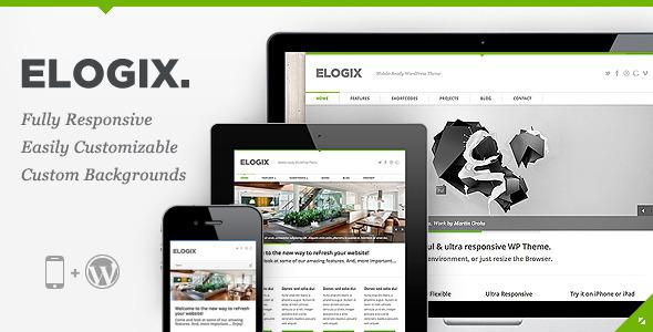 ELOGIX - Responsive Business WordPress Theme