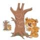 Loving Brown Teddy Bear