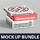 Pizza Box Mockup Bundle