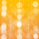 Orange Bokeh Background.