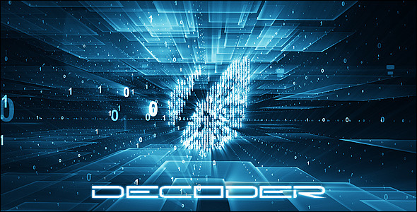 After Effects Project - VideoHive Decoder 1958632