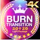 Burn Transitions 4K