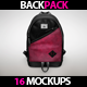 BackPack Mockup
