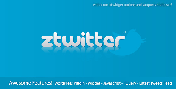 CodeCanyon zTwitter Twitter Feed Widget For WordPress 254257