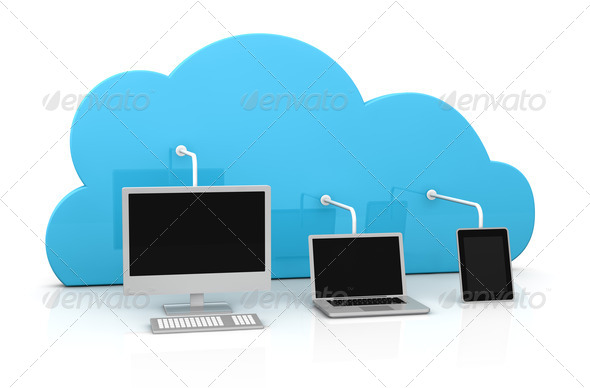 PhotoDune cloud computing 1958854