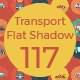 Transport Flat Circle with shadow