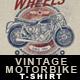 Vintage Motorbike T-Shirt Design