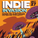 Indie Invasion Flyer