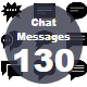 Chat Messages Glyphs icons