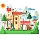 Farmland Real Estate Design Flat