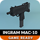Low Poly Ingram MAC-10