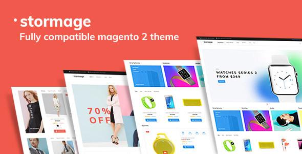 StorMage - Responsive Fashion Store Magento 2x Theme