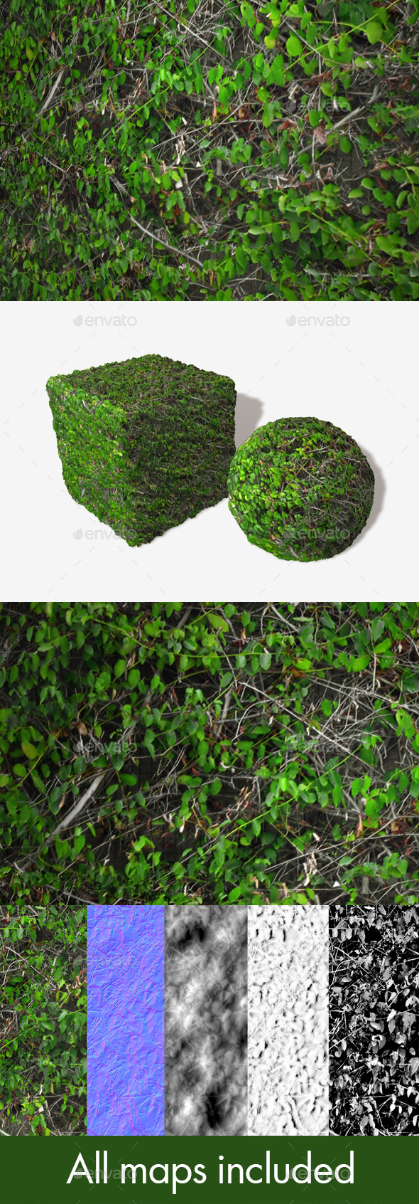 3DOcean Wall Climbers Seamless Texture 20007748