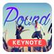 Pound - Best Keynote Template