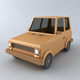 Low Poly car toy