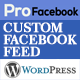 Pro Facebook Feed - Responsive