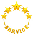 Five golden star service