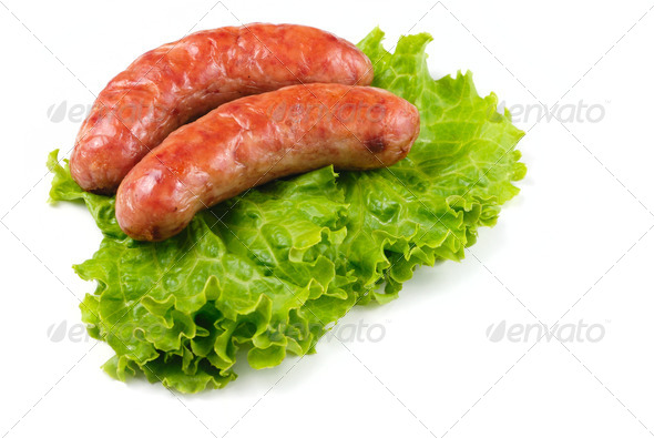 Pork sausages - Stock Photo - Images